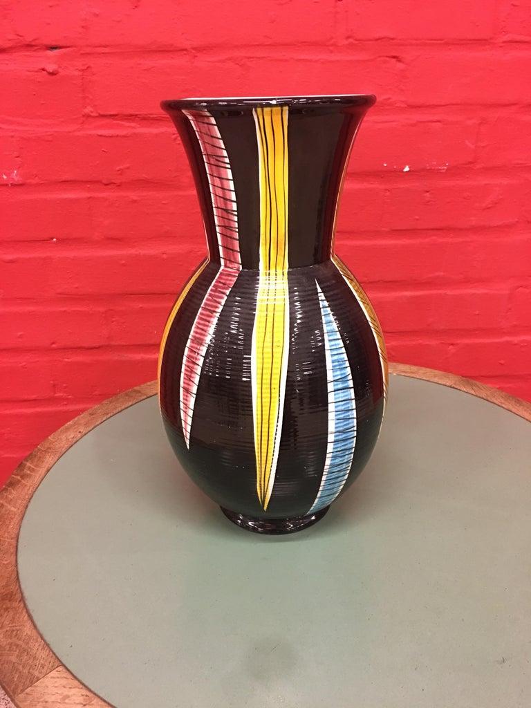 Saint Clement, large ceramic vase, circa 1960.