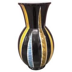 Saint Clement, Large Ceramic Vase, circa 1960