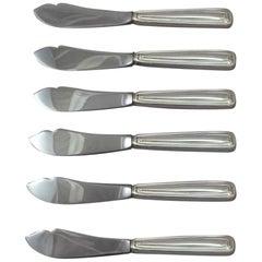 Saint Dunstan by Tiffany & Co. Sterling Silver Trout Knife Set 6-Piece Custom