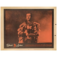Saint Joan 1957 U.S. Scene Card
