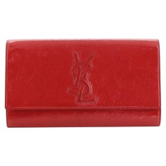 Saint Laurent Belle de Jour Clutch Leather Large