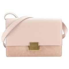 Saint Laurent Bellechasse Shoulder Bag Suede and Leather Medium