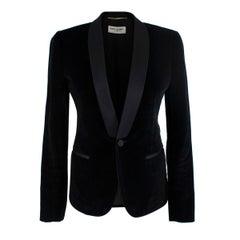 Saint Laurent Black Velvet Blazer - US Size 4