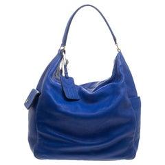 Saint Laurent Blue Leather Multy Hobo