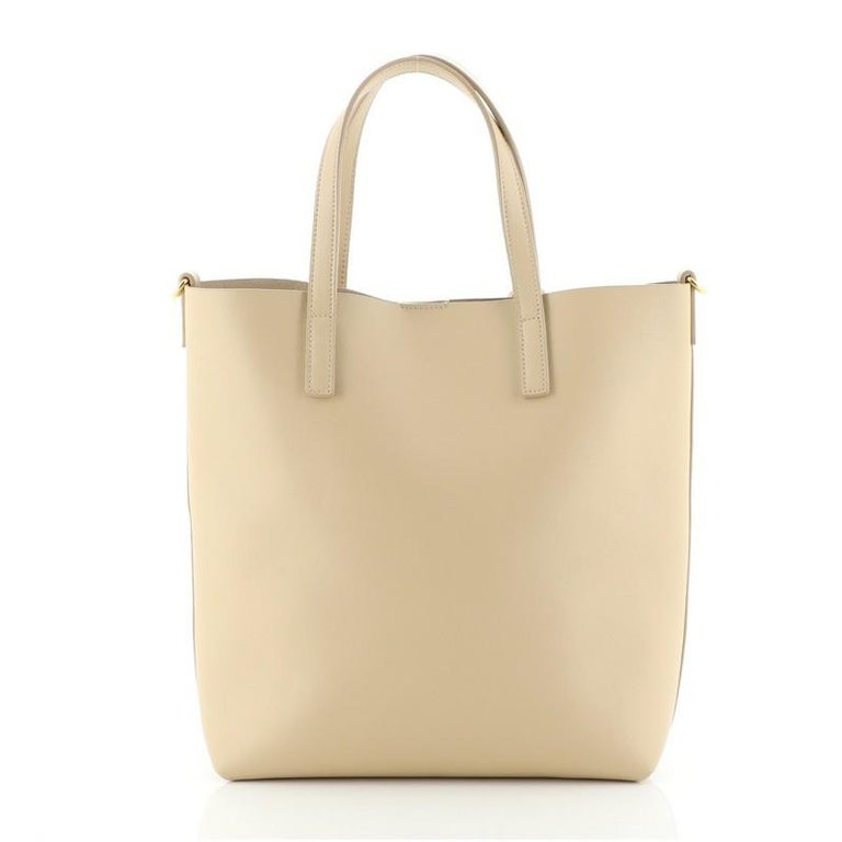 Saint Laurent Bold Tote Leather Toy In Good Condition In New York, NY
