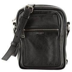 Saint Laurent Brad Crossbody Pouch Leather