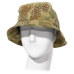 Saint Laurent Camo Bucket Hat S/S 2016 RTW