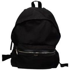Saint Laurent Canvas City Backpack (32686)
