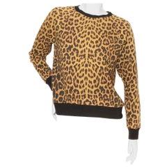 Saint Laurent Cheetah Sweater F/W 2015
