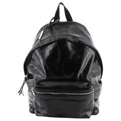 Saint Laurent City Backpack Patent Medium