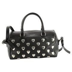 Saint Laurent Classic Baby Duffle Bag Studded Leather