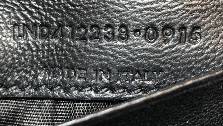Saint Laurent Classic Monogram Crossbody Bag Crochet Over Leather Baby  1