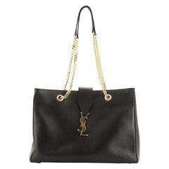 Saint Laurent  Classic Monogram Shopper Leather Large