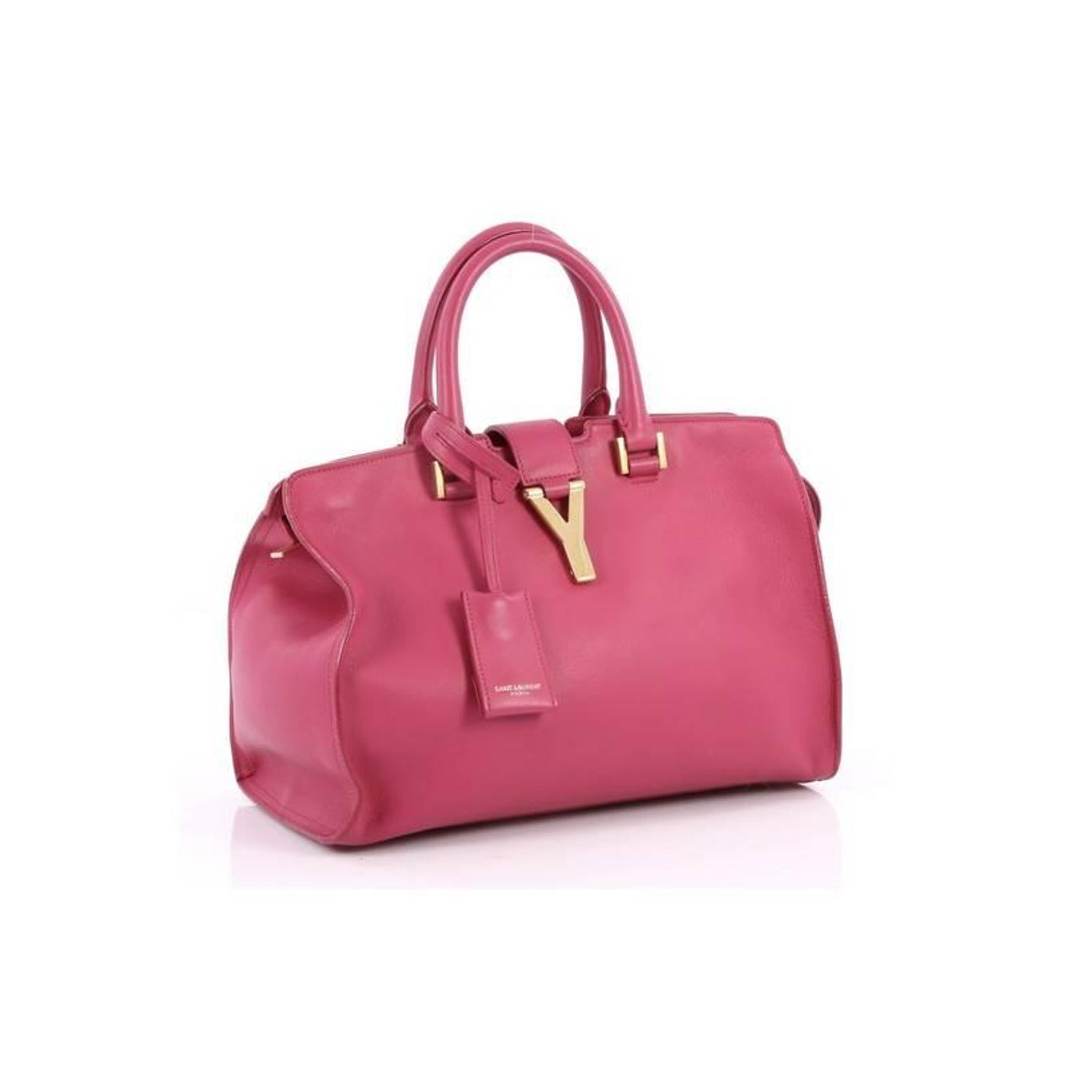 Saint Laurent Classic Y Cabas Leather Small at 1stdibs fb097a33eb723