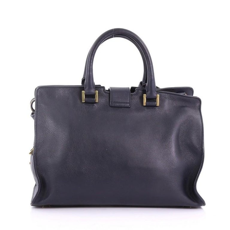Saint Laurent Classic Y Cabas Leather Small In Good Condition For Sale In New York, NY