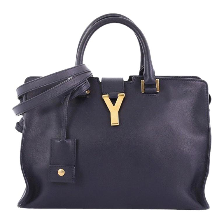 fbfa2a025a71 Saint Laurent Classic Y Cabas Leather Small For Sale at 1stdibs