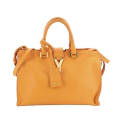 Saint Laurent Classic Y Cabas Leather Small