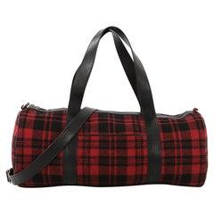 Saint Laurent Convertible Weekender Bag Wool