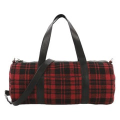 Saint Laurent Convertible Weekender Bag Wool
