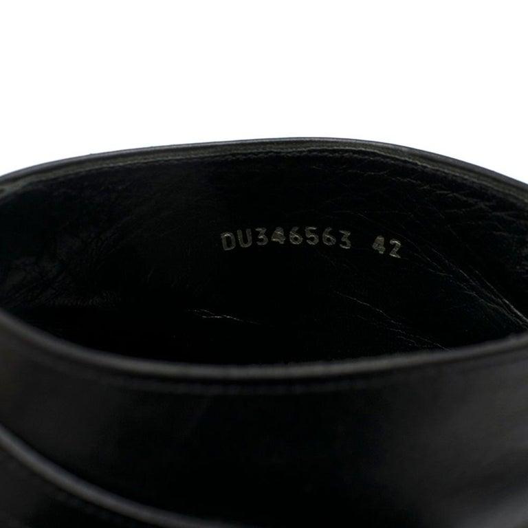 Saint Laurent Duckies 30 Triple Buckle Ankle Boot SIZE 42 For Sale 2