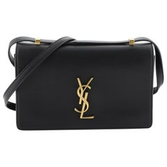Saint Laurent Dylan Shoulder Bag Leather Small
