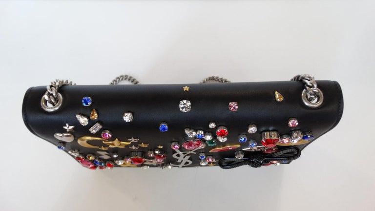 Saint Laurent F/W 16 Embellished Crossbody Clutch For Sale 1