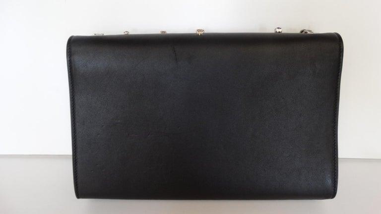 Saint Laurent F/W 16 Embellished Crossbody Clutch For Sale 2