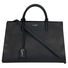 Saint Laurent in black leather