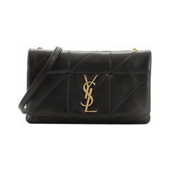 Saint Laurent Jamie Chain Wallet Quilted Leather