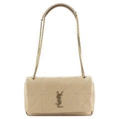 Saint Laurent Jamie Flap Bag Quilted Leather Medium