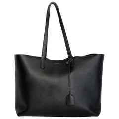 Saint Laurent Leather Shopping Tote