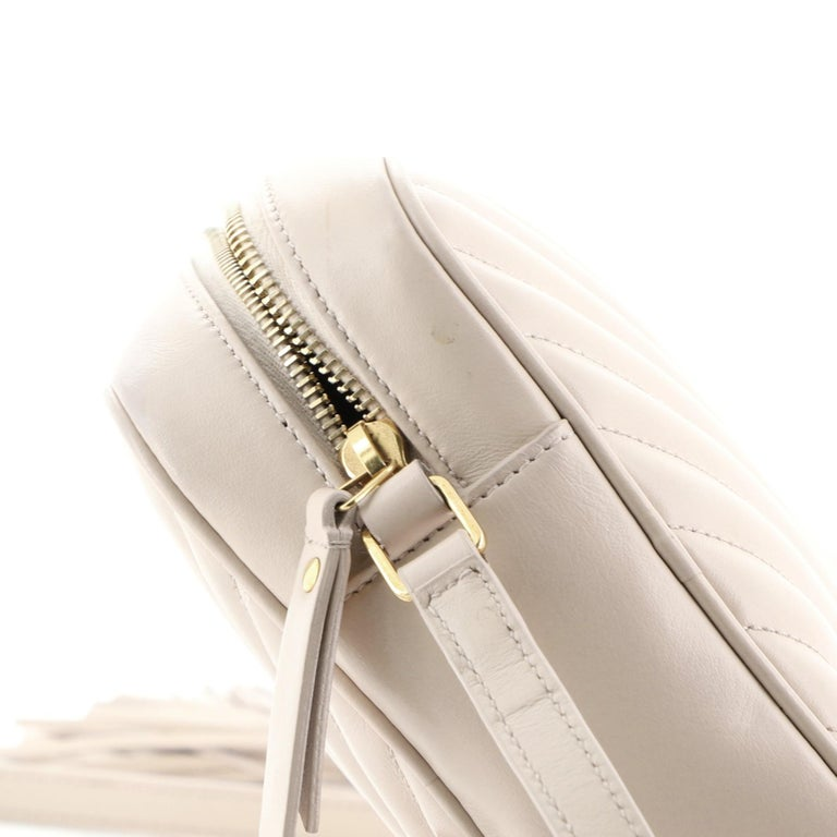 Saint Laurent Lou Camera Bag Matelasse Chevron Leather
