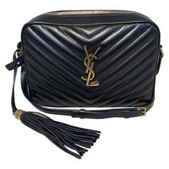 Saint Laurent Lou Matelassé Leather YSL Camera Bag