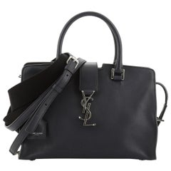 Saint Laurent Monogram Cabas Leather Baby