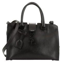 Saint Laurent Monogram Cabas Leather Baby