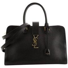 Saint Laurent Monogram Cabas Leather Medium