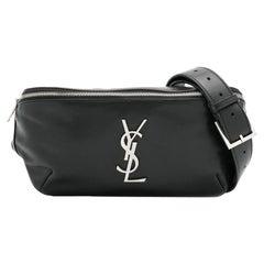 Saint Laurent Monogram Leather Belt Bag