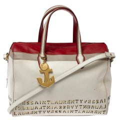 Saint Laurent Multicolor Leather Sac Flirty Boston Bag