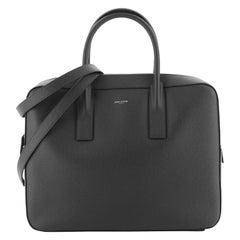 Saint Laurent Museum Flat Briefcase Leather Medium