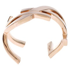 Saint Laurent Paris Cassandre Gold Plated Bracelet