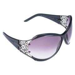Saint Laurent Paris Grey/Grey Gradient 6142/S Oversized Sunglasses