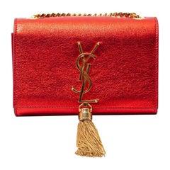 Saint Laurent Red Kate Chain