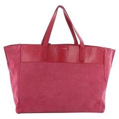 Saint Laurent Reversible East West Shopper Tote Leather