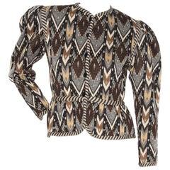 Saint Laurent Rive Gauche Jacket (Circa 1970's)