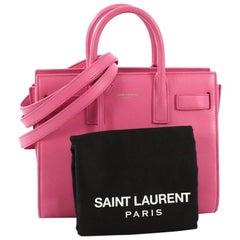 Saint Laurent Sac de Jour Bag Leather Nano