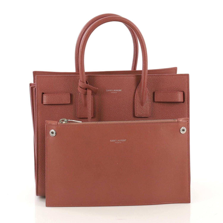 adb50d23ea Saint Laurent Sac de Jour NM Bag Leather Baby