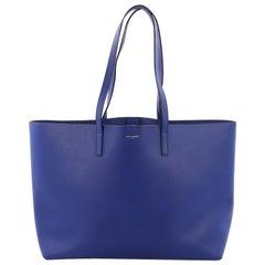 Saint Laurent Shopper Tasche aus Leder Groß