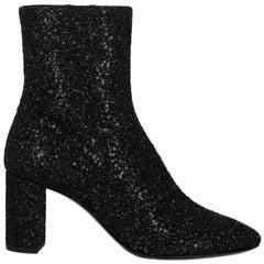 Saint Laurent Woman Ankle boots Black EU 37