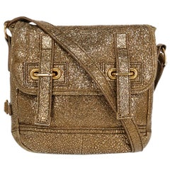 Saint Laurent Woman Cross body bag Gold