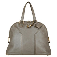 Saint Laurent Woman Handbag Muse Brown Leather